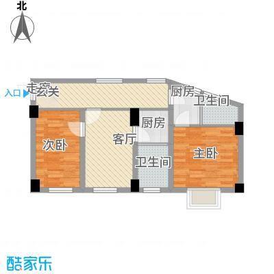 新城雅居02单元户型10室
