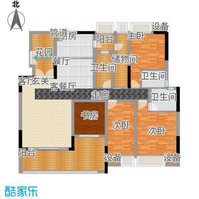 保林苑87.00㎡保林苑3室2厅户型3室2厅