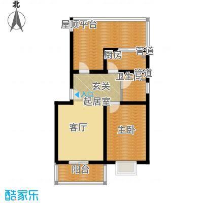 康馨雅苑二期户型3户型1室1厅