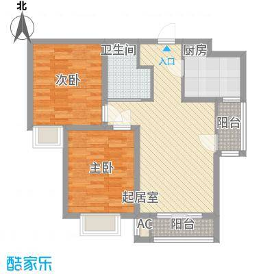晨垣鼎晟89.00㎡晨垣鼎晟89.00㎡2室户型2室