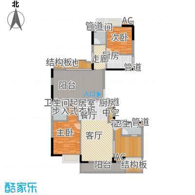 元邦・明月星辉154.00㎡元邦・明月星辉户型图C栋B型3室2厅3卫户型3室2厅3卫