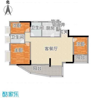 富邦名寓173.92㎡富邦名寓三室户型10室