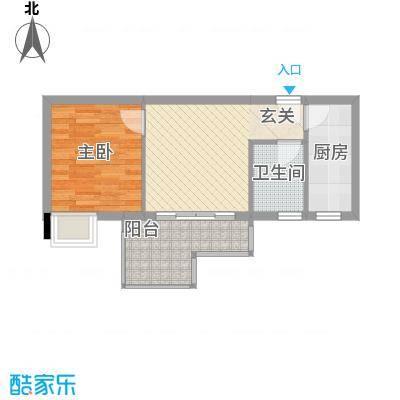 星汇峰户型图E座5栋03单元户型图 3室2厅2卫1厨