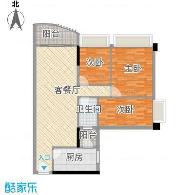 棠下远洋宿舍95.00㎡棠下远洋宿舍95.00㎡3室户型3室