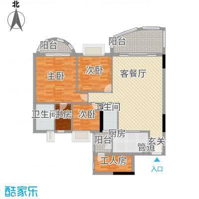 车陂惠苑楼145.00㎡5室2厅户型5室2厅2卫1厨