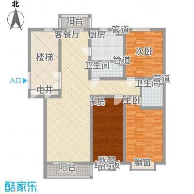 碧龙江畔144.97㎡碧龙江畔户型图户型图3室2厅2卫户型3室2厅2卫