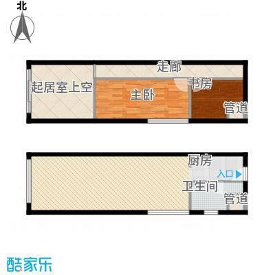 万锦逸城户型图D户型图 3室2厅2卫1厨