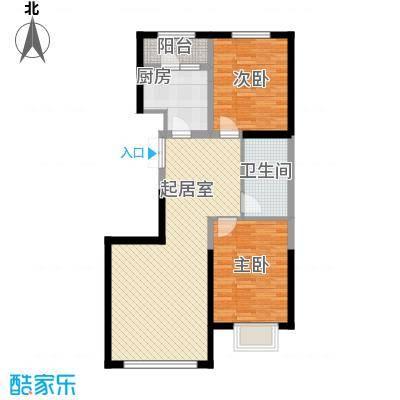 万锦逸城95.64㎡万锦逸城户型图C户型图2室2厅1卫1厨户型2室2厅1卫1厨