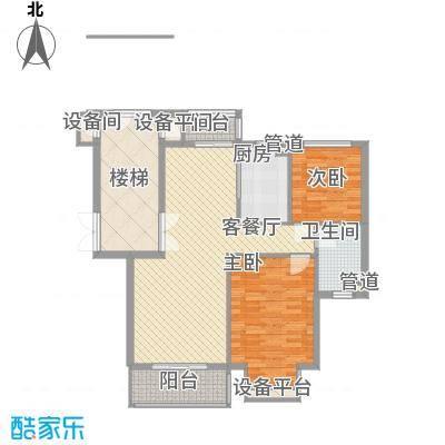 碧龙江畔92.11㎡碧龙江畔户型图户型图2室2厅1卫户型2室2厅1卫