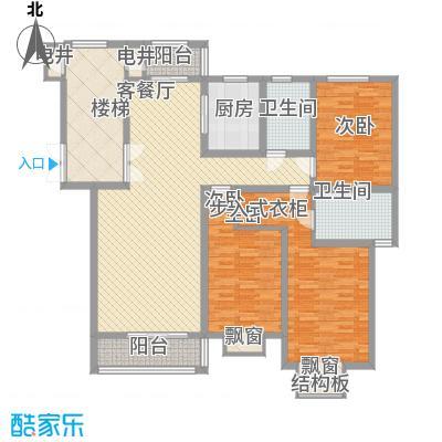 碧龙江畔145.87㎡碧龙江畔户型图户型图3室2厅2卫户型3室2厅2卫