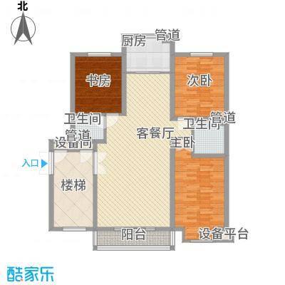 碧龙江畔126.88㎡碧龙江畔户型图户型图3室2厅2卫户型3室2厅2卫