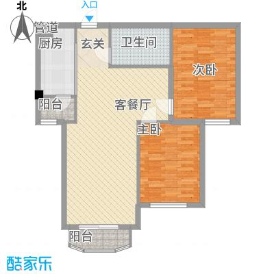��汇92.00㎡��汇户型图户型B13室2厅1卫1厨户型3室2厅1卫1厨