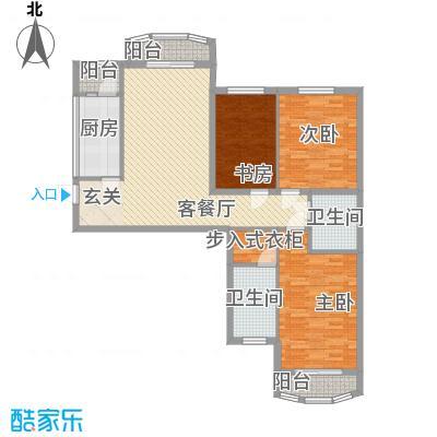 ��汇119.00㎡��汇户型图户型B22室2厅1卫1厨户型2室2厅1卫1厨