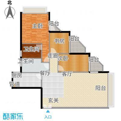 鸿业大厦144.00㎡鸿业大厦户型图3室2厅户型图3室2厅2卫1厨户型3室2厅2卫1厨