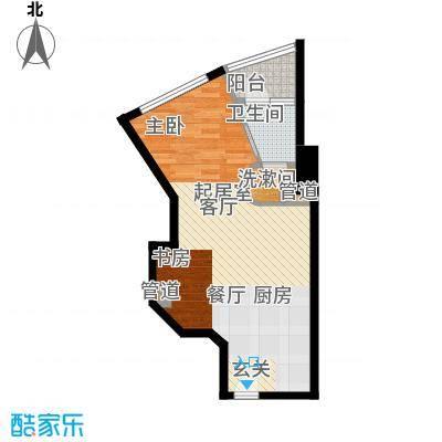 幸福立方47.00㎡幸福立方户型图07单位户型10室