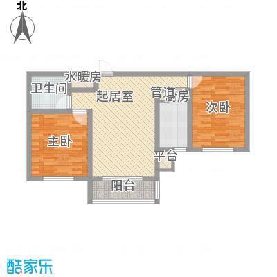 水语青城92.82㎡水语青城户型图户型图2室1厅1卫1厨户型2室1厅1卫1厨