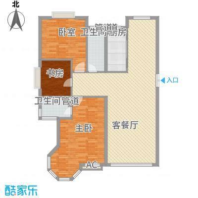 香槟美景139.89㎡香槟美景户型图F8户型图3室2厅2卫1厨户型3室2厅2卫1厨