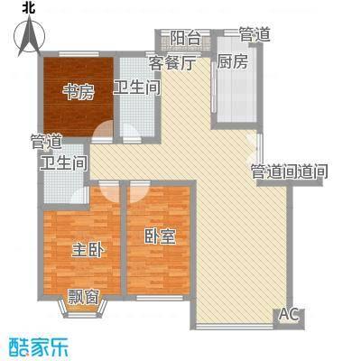 香槟美景128.82㎡香槟美景户型图E户型3室2厅2卫户型3室2厅2卫