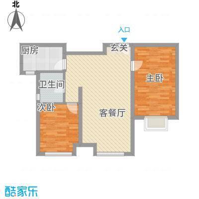 万锦香颂88.25㎡万锦香颂户型图N2户型图3室2厅1卫1厨户型3室2厅1卫1厨