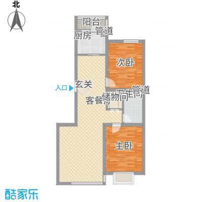 爵士悦105.00㎡爵士悦户型图户型图2室2厅2卫1厨户型2室2厅2卫1厨