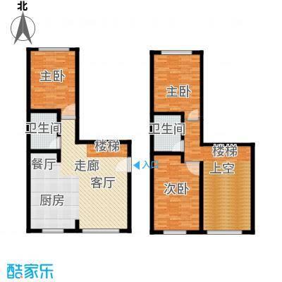 海西名筑136.00㎡海西名筑户型图D户型3室2厅2卫1厨户型3室2厅2卫1厨