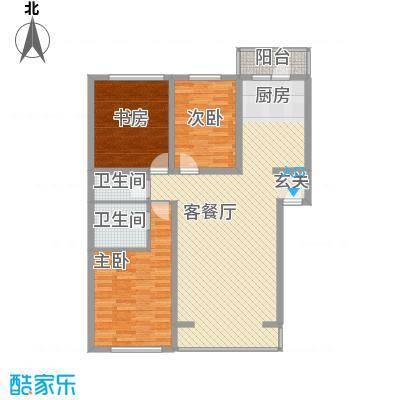 景观花园133.97㎡景观花园户型图户型图3室2厅2卫1厨户型3室2厅2卫1厨
