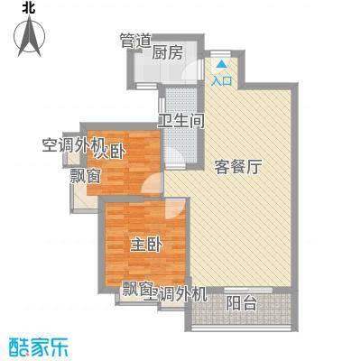 名品建筑85.50㎡名品建筑户型图8-2户型2室2厅1卫1厨户型2室2厅1卫1厨