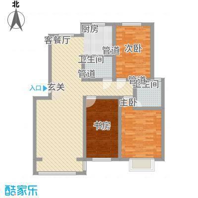 青熙境130.44㎡青熙境户型图A-130A户型3室2厅2卫1厨户型3室2厅2卫1厨