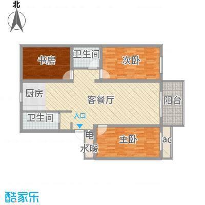 丽和阳光城127.99㎡丽和阳光城户型图D户型3室2厅2卫1厨户型3室2厅2卫1厨