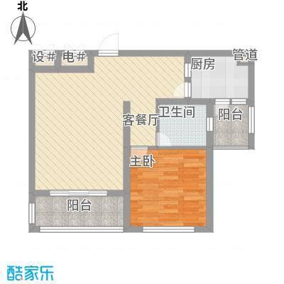 丽和阳光城62.15㎡丽和阳光城户型图P户型1室2厅1卫1厨户型1室2厅1卫1厨