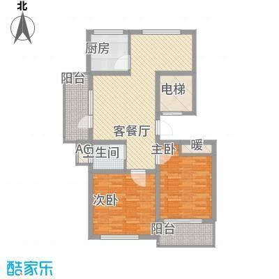 丽和阳光城95.26㎡丽和阳光城户型图M户型2室2厅1卫1厨户型2室2厅1卫1厨