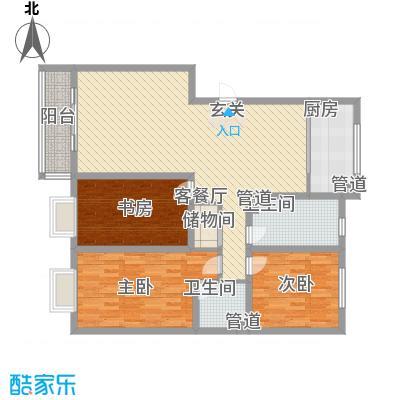 金河湾139.32㎡金河湾户型图户型图3室2厅2卫1厨户型3室2厅2卫1厨