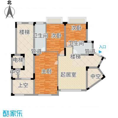 江南世家别墅江南世家别墅户型图二期半山气质B型上层户型10室