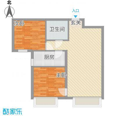 中鼎馨城83.78㎡中鼎馨城户型图B户型2室2厅1卫1厨户型2室2厅1卫1厨