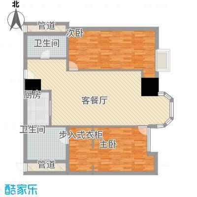 利佰佳国际公寓134.00㎡利佰佳国际公寓户型图户型图2室2厅1卫1厨户型2室2厅1卫1厨