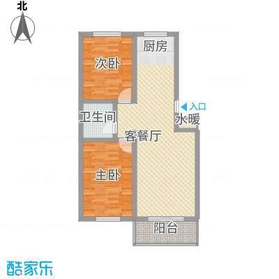 丽和阳光城92.14㎡丽和阳光城户型图e户型2室2厅1卫1厨户型2室2厅1卫1厨