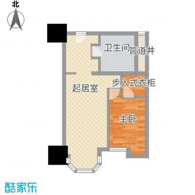 利佰佳国际公寓57.10㎡利佰佳国际公寓户型图户型图1室1厅1卫1厨户型1室1厅1卫1厨