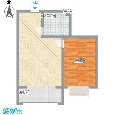 公元大道59.31㎡公元大道户型图L户型1室1厅1卫1厨户型1室1厅1卫1厨