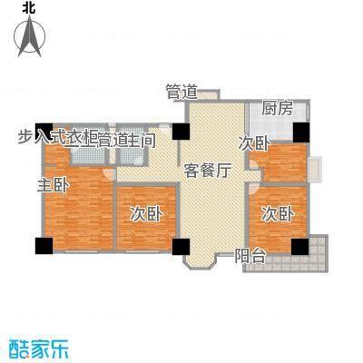 利佰佳国际公寓269.30㎡利佰佳国际公寓户型图户型图4室2厅2卫1厨户型4室2厅2卫1厨