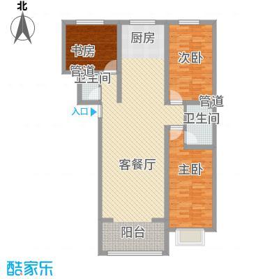 公元大道122.19㎡公元大道户型图K户型3室2厅2卫1厨户型3室2厅2卫1厨