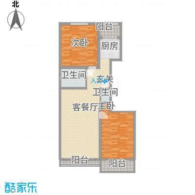 吉美家园112.48㎡吉美家园户型图A1A户型2室1厅2卫1厨户型2室1厅2卫1厨