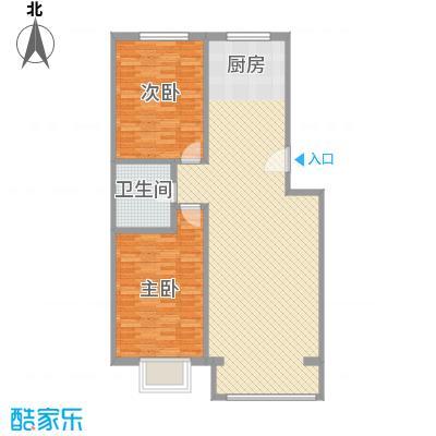 千家和众新家园116.57㎡千家和众新家园户型图A户型2室2厅1卫1厨户型2室2厅1卫1厨