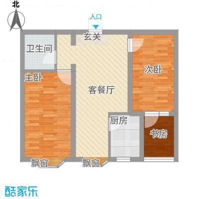 世源佳境79.00㎡世源佳境户型图3A、D户型图2室2厅1卫1厨户型2室2厅1卫1厨