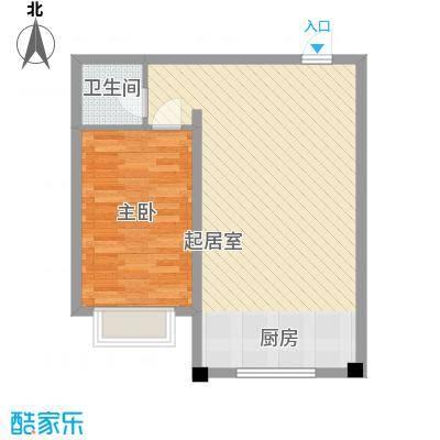 都市新村58.77㎡都市新村户型图C户型1室1厅1卫1厨户型1室1厅1卫1厨