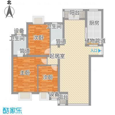新希望家园146.12㎡新希望家园户型图户型图3室2厅2卫1厨户型3室2厅2卫1厨