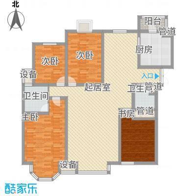 新希望家园新希望家园户型图二期21号楼十三层B户型4室2厅2卫户型4室2厅2卫