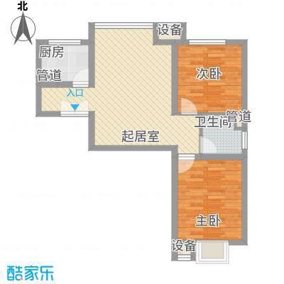 新希望家园新希望家园户型图二期24号楼七层D户型2室1厅1卫户型2室1厅1卫