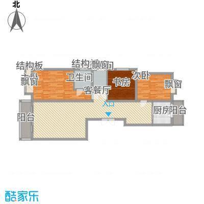 长乐湾133.40㎡长乐湾户型图F户型3室2厅2卫1厨户型3室2厅2卫1厨