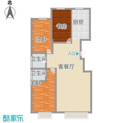 银座嘉园158.28㎡银座嘉园户型图d户型3室2厅2卫1厨户型3室2厅2卫1厨