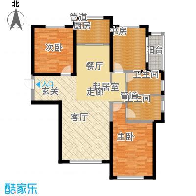 绿地塞尚公馆134.00㎡绿地塞尚公馆户型图A6、A8、A10户型3室2厅2卫户型3室2厅2卫
